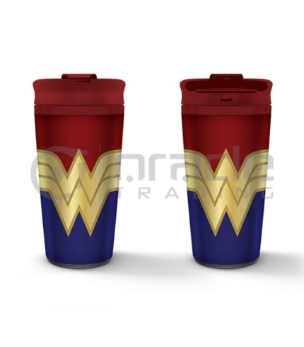 Wonder Woman Metal Travel Mug