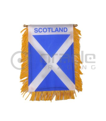 Scotland Mini Banner (St. Andrew's Cross)