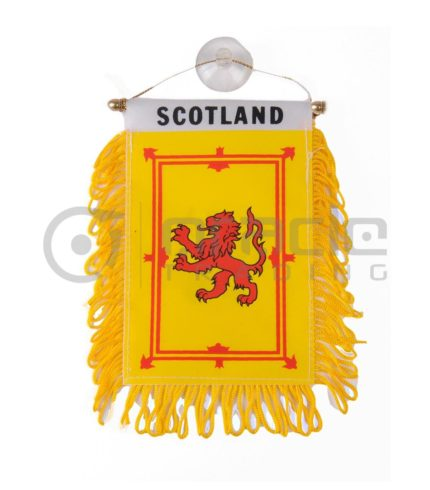 Scotland Mini Banner (Rampant Lion)