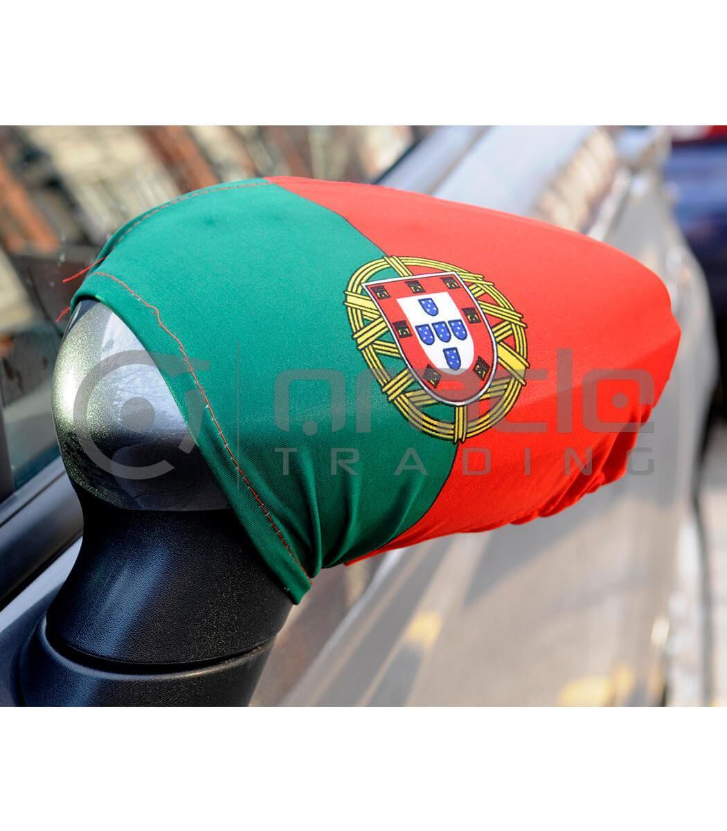 Portugal Mirror Cover Set