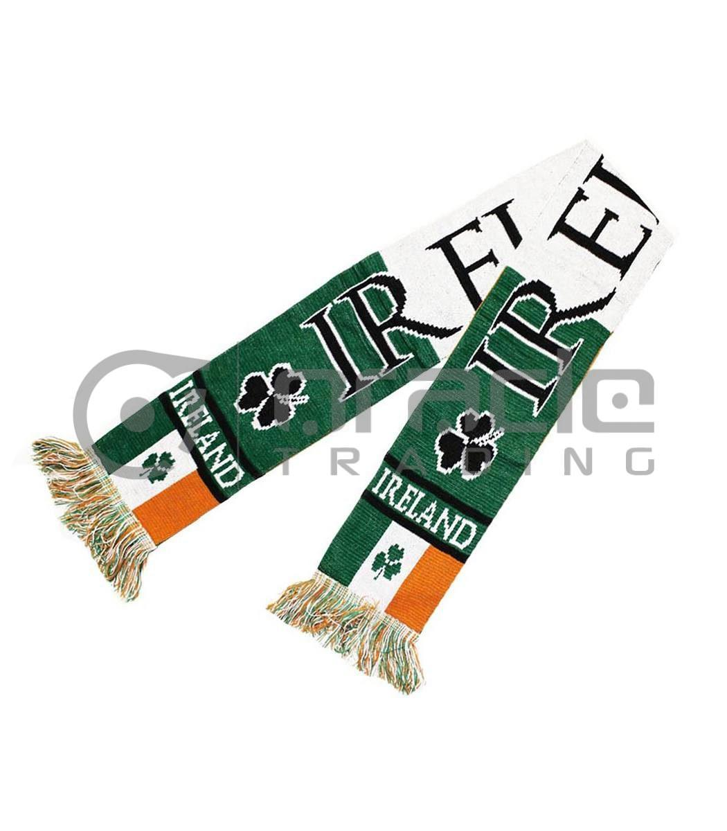 Ireland Knitted Scarf - Flag