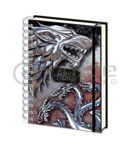 Game of Thrones Notebook - Stark & Targaryen