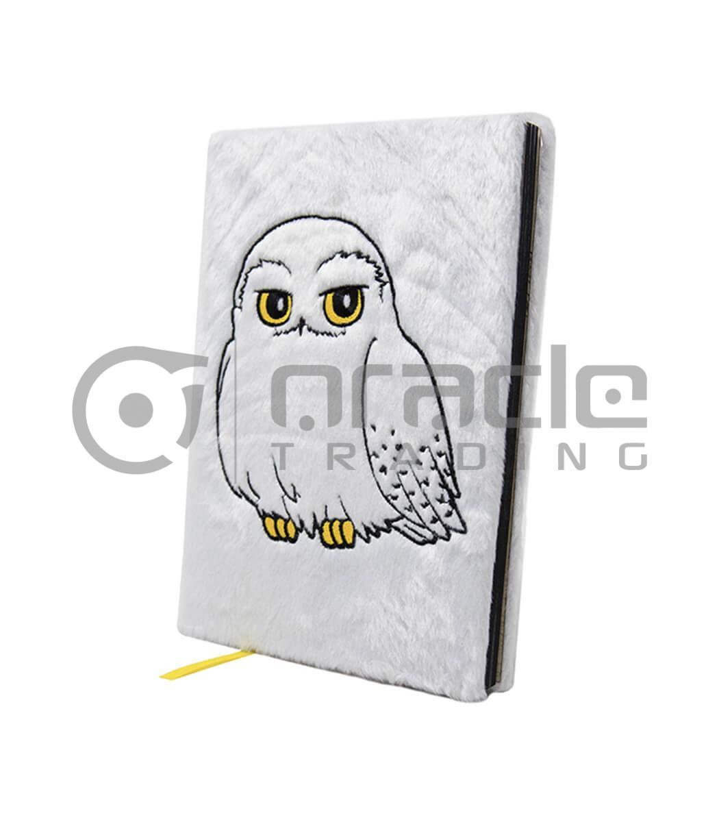 Harry Potter Fluffy Notebook - Hedwig (Premium)