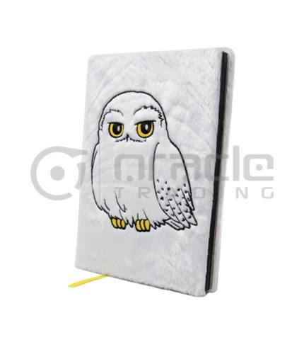 Harry Potter Fluffy Notebook - Hedwig (Premium)