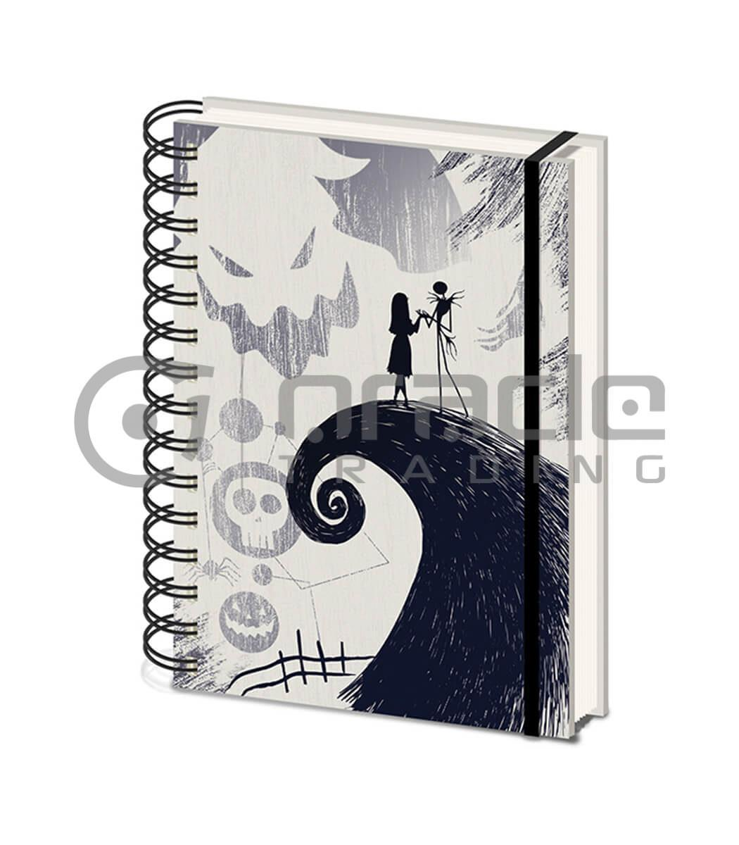 Nightmare Before Christmas Notebook