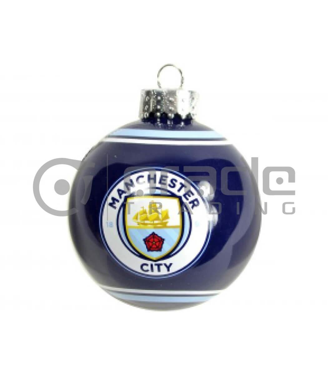 Manchester City Christmas Ornament