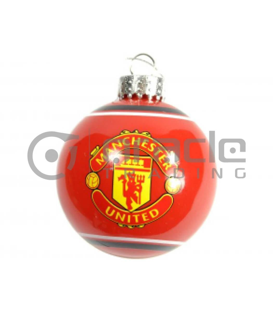 Manchester United Christmas Ornament