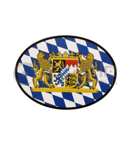 Bavaria Oval Decal