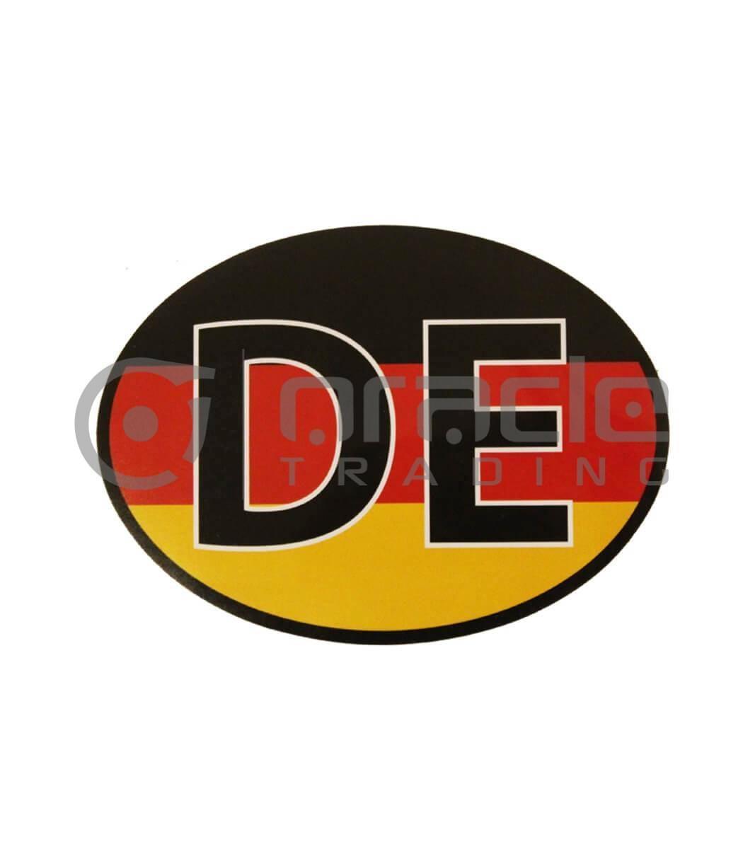 Germany Oval Decal - DE