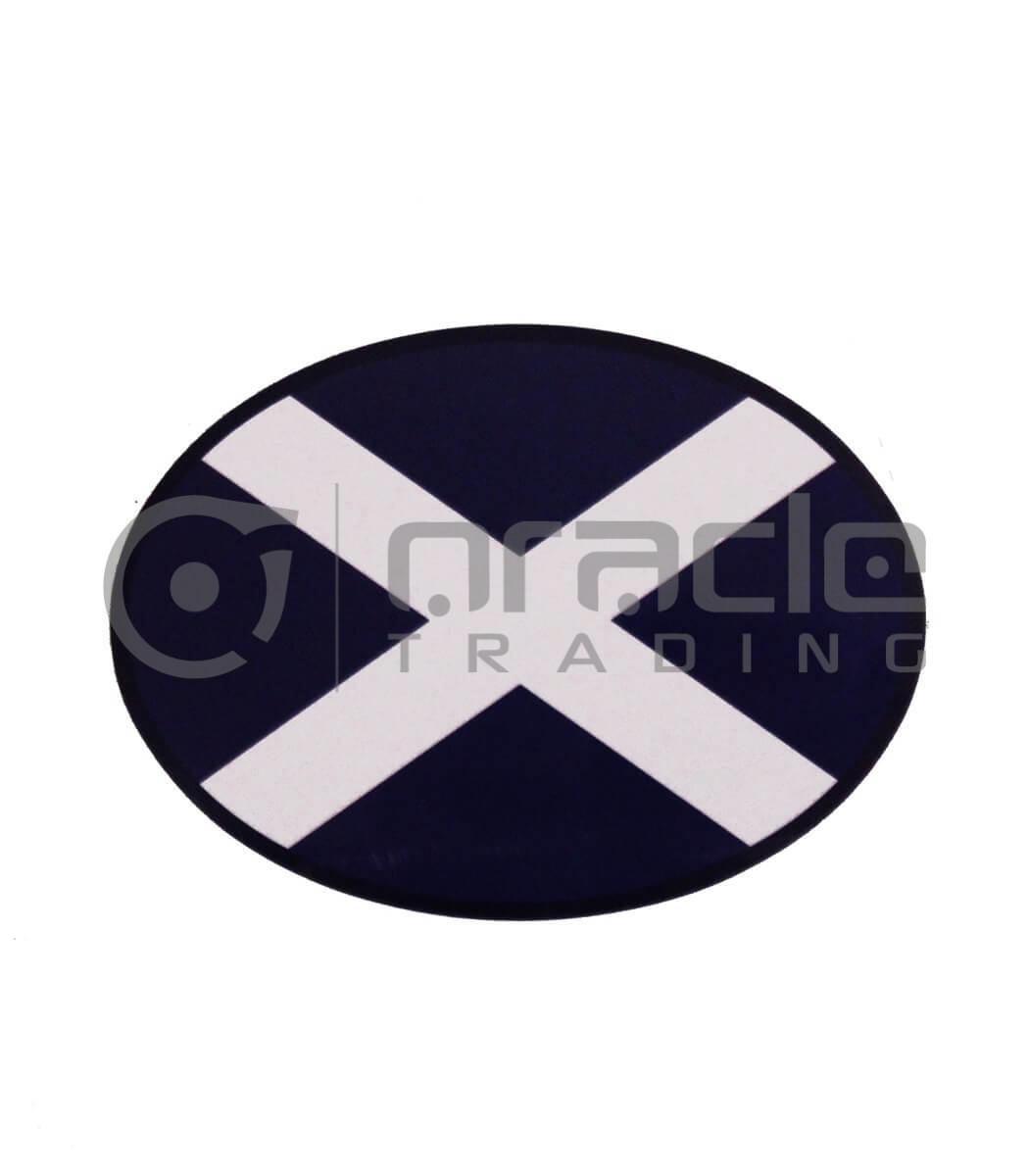 Scotland Oval Decal - Plain