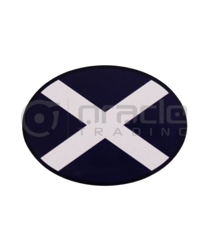Scotland Oval Decal - Plain
