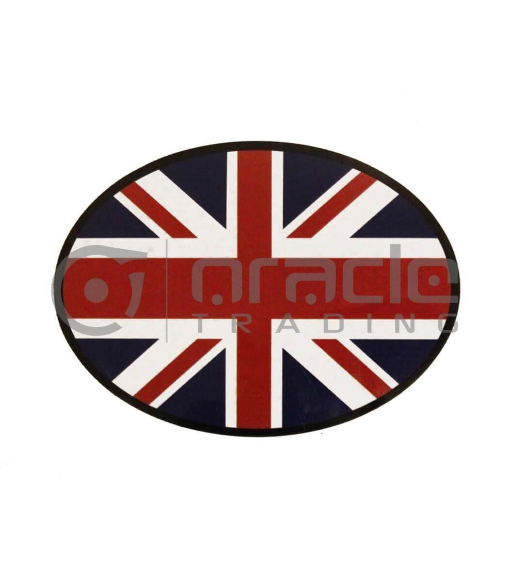UK Oval Decal