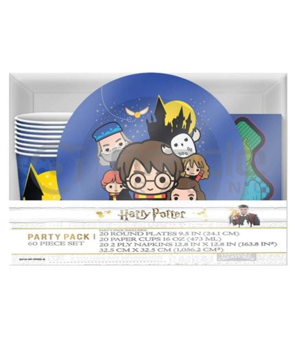 Harry Potter Party Pack - 60pcs