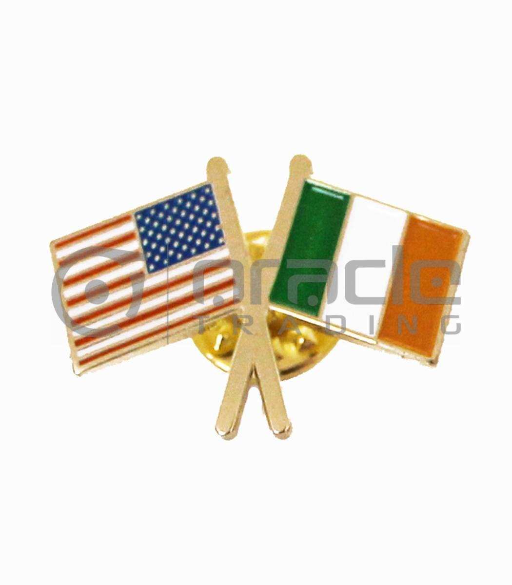 Ireland / USA Friendship Lapel Pin