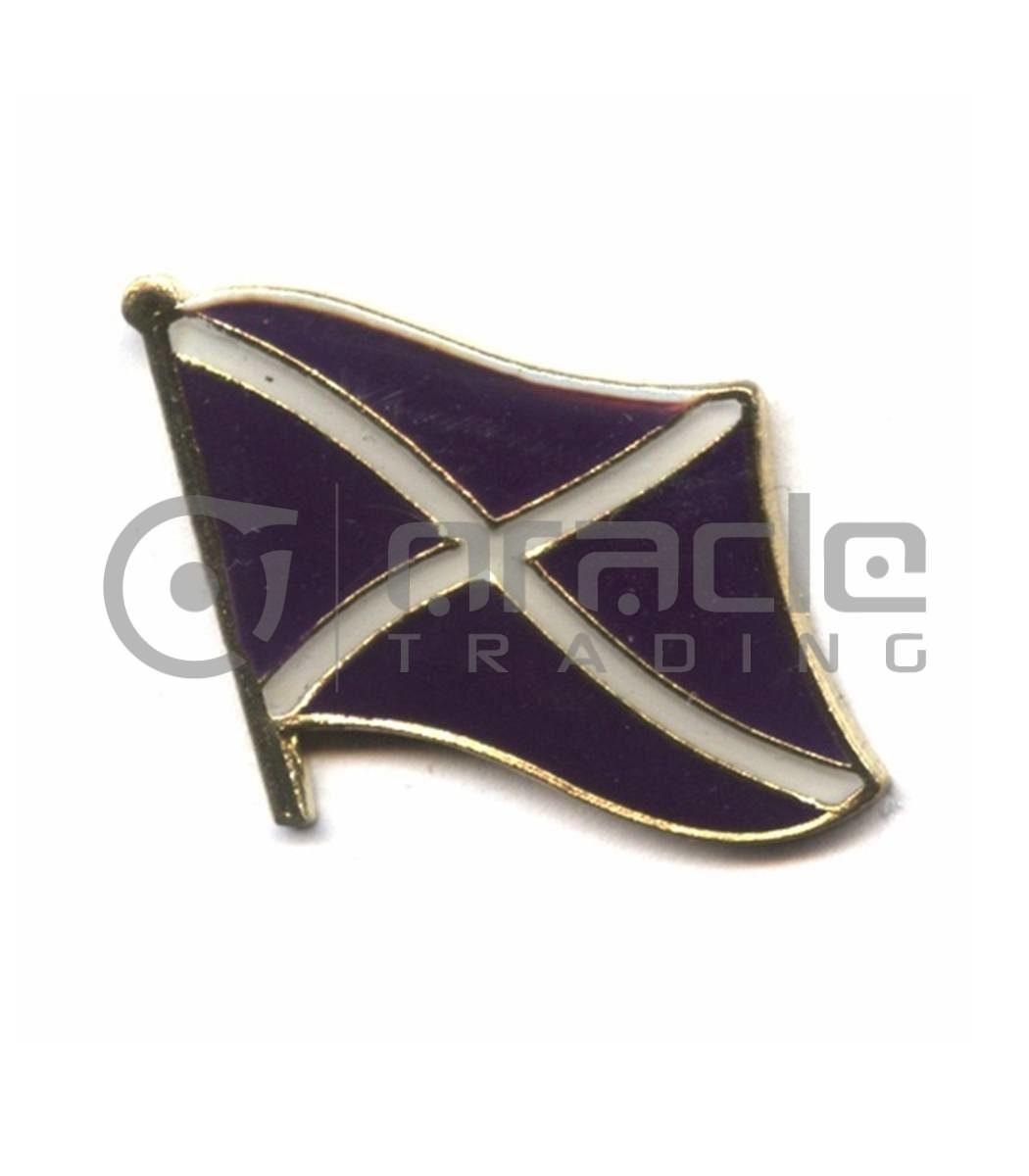Scotland Lapel Pin - St. Andrew's Cross