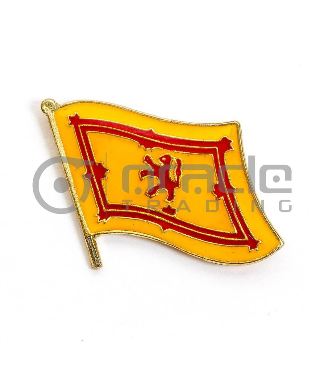 Scotland Lapel Pin - Rampant Lion