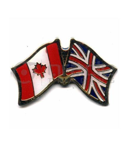 UK / Canada Friendship Lapel Pin (United Kingdom)