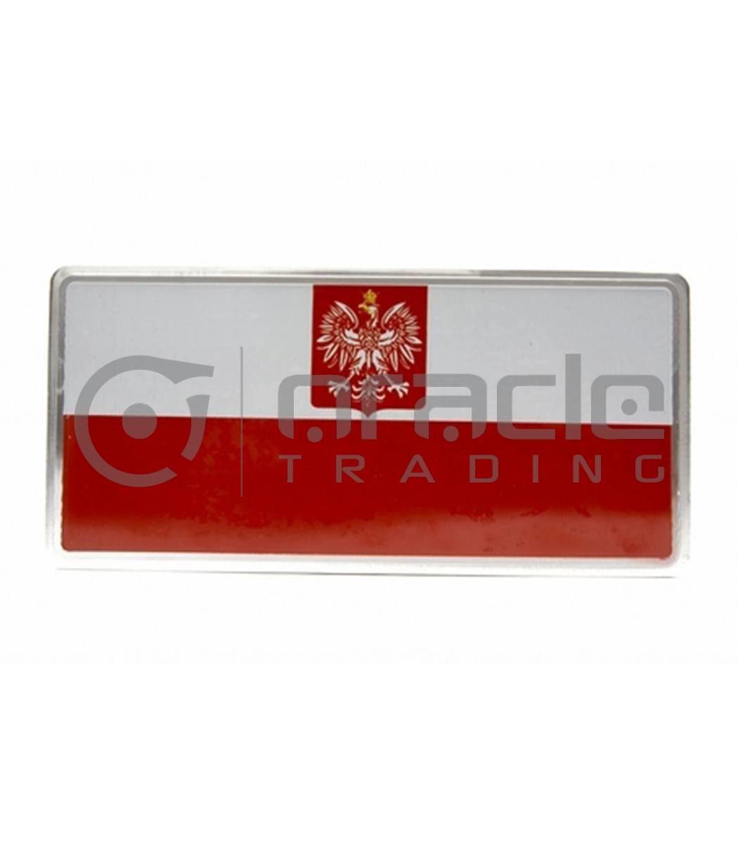 Poland Plate Sticker