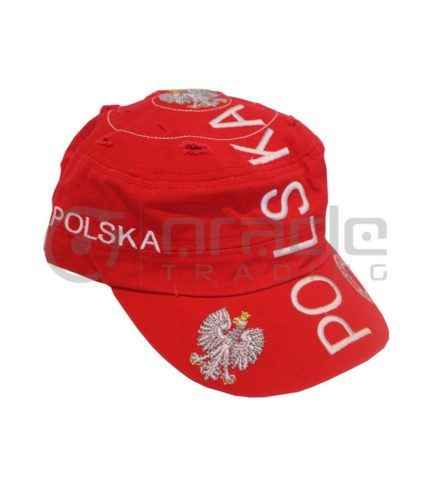 Poland Distressed Army Hat