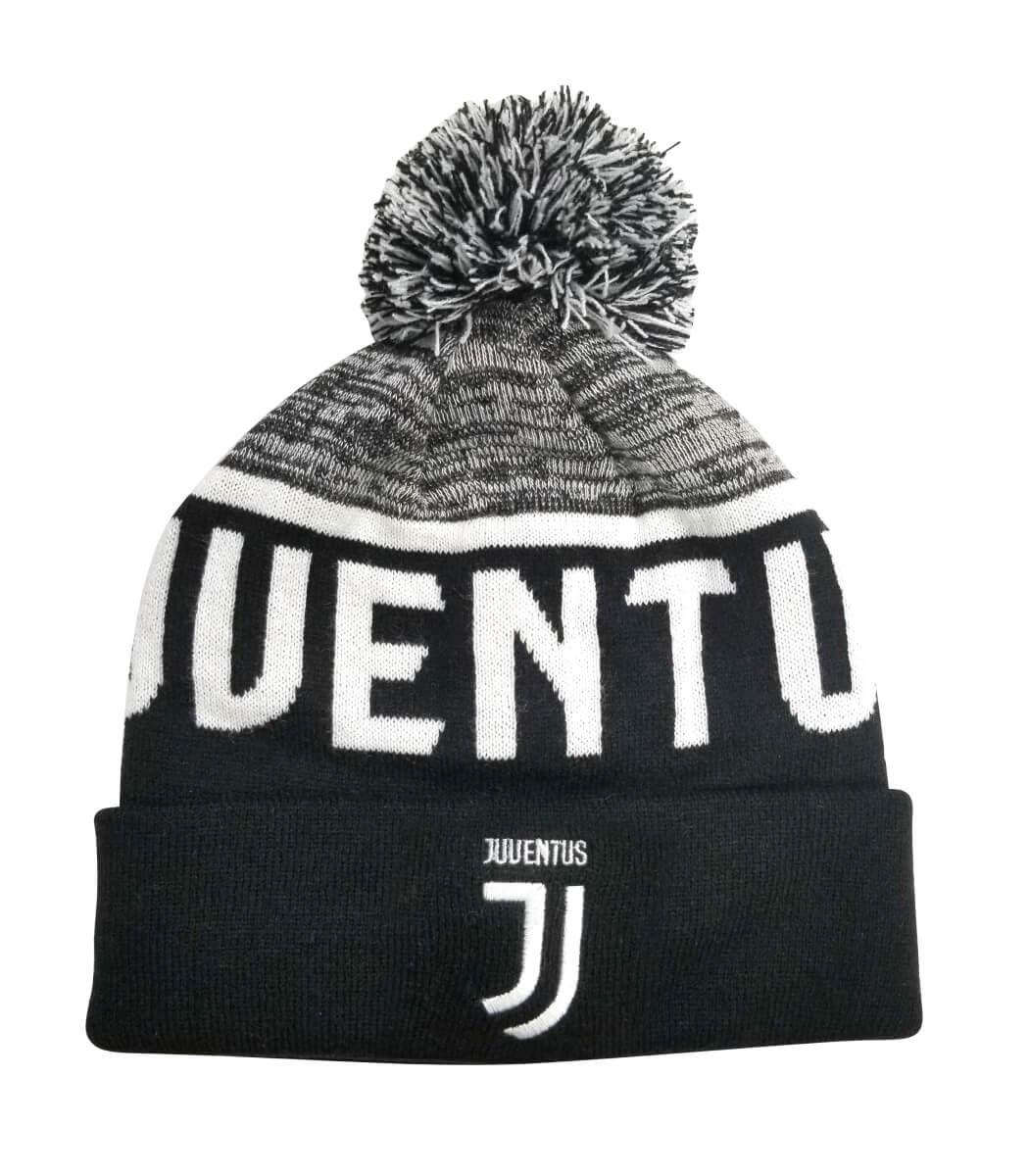 Juventus Pom Beanie - Black