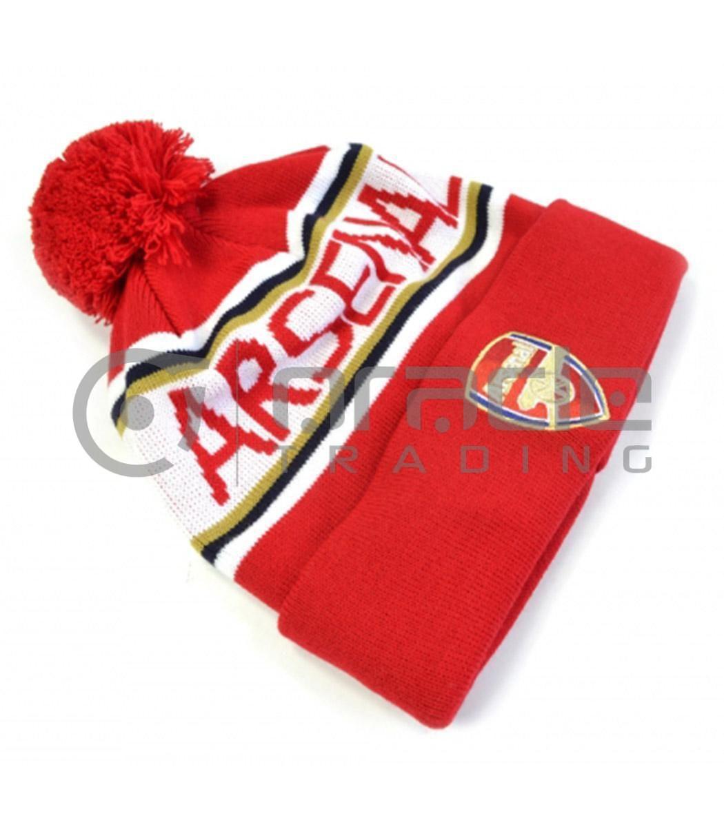 Arsenal Pom Beanie