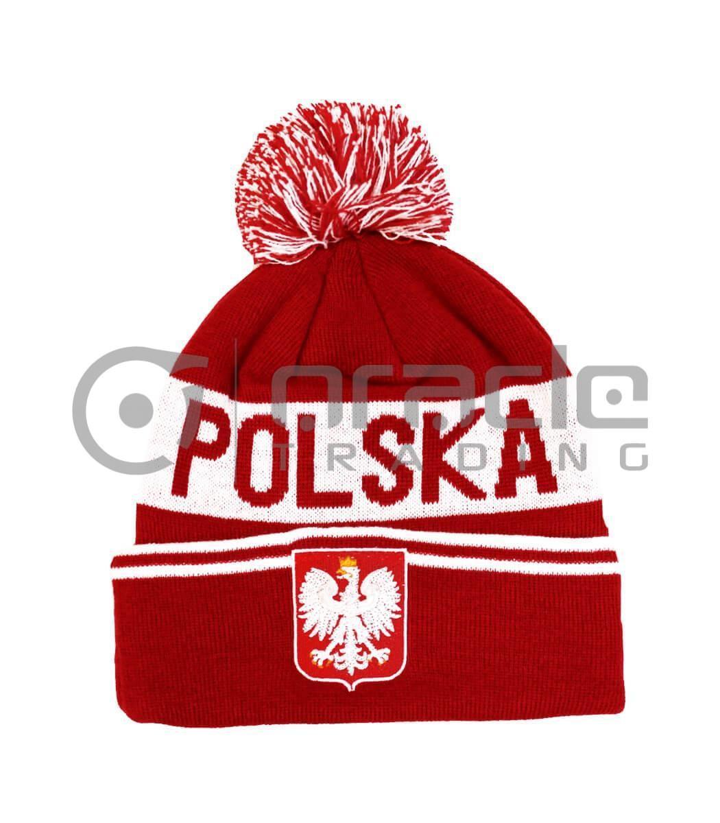 Poland Pom Beanie