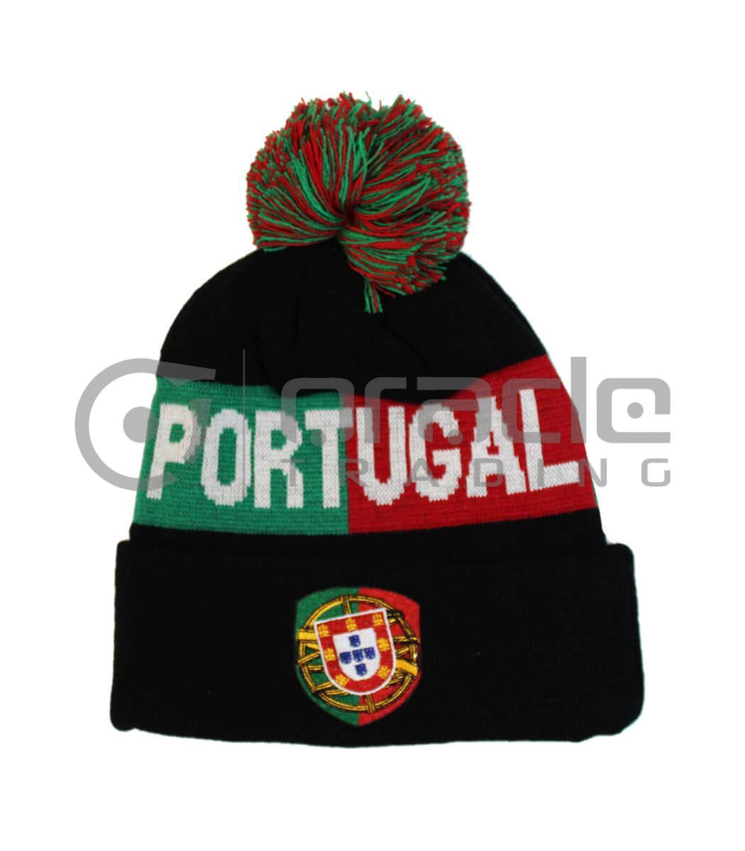 Portugal Pom Beanie