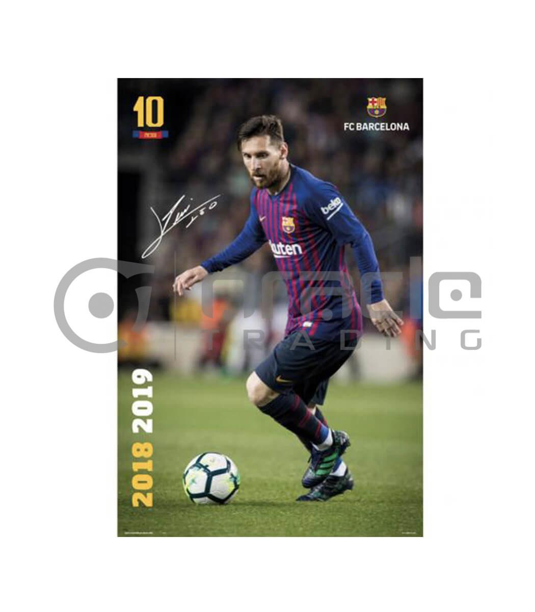 Barcelona Poster - Messi