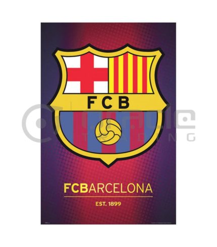 Barcelona Poster - Crest