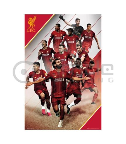 Liverpool Poster - Players 2019-20