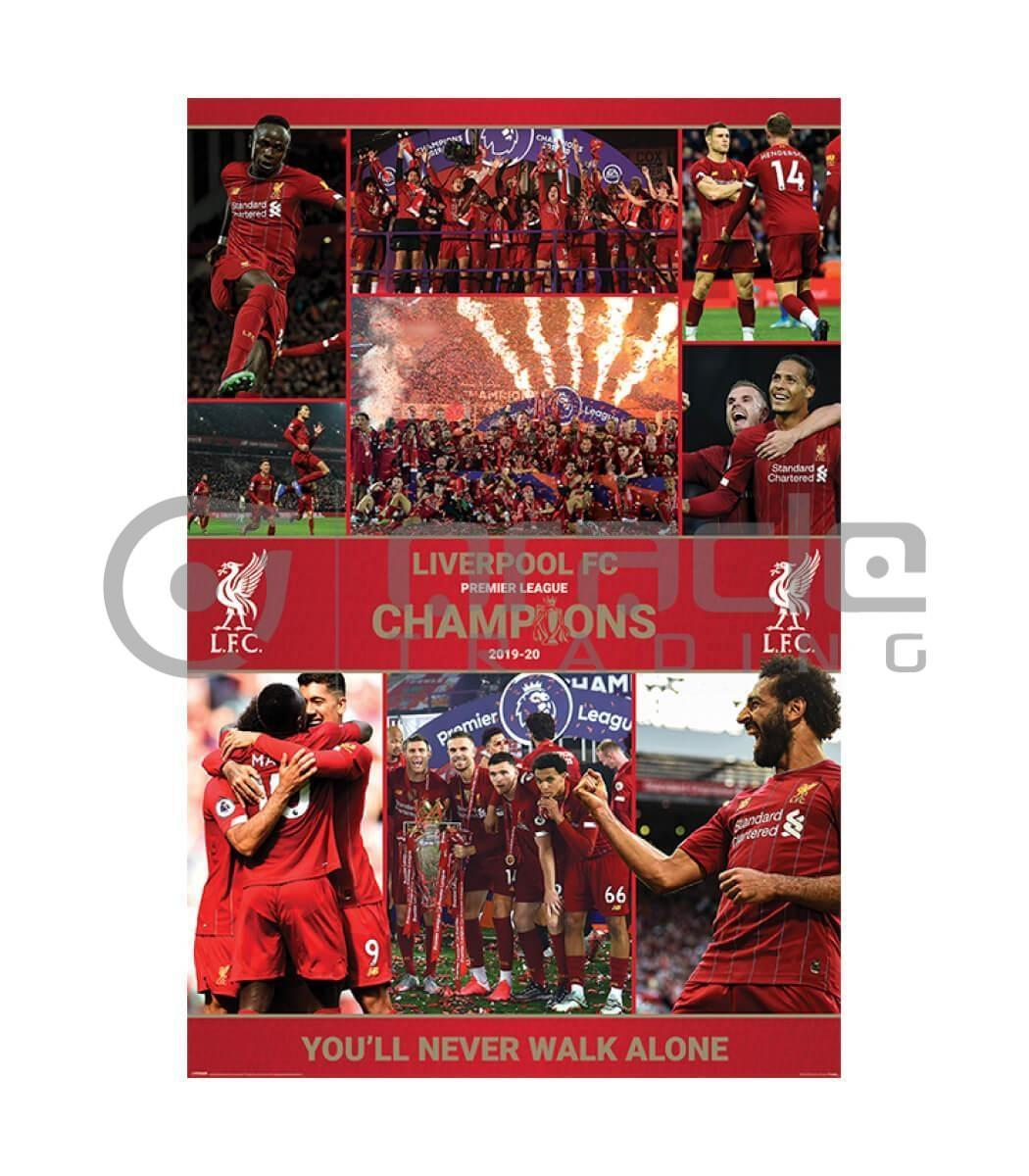 Liverpool Poster - Winning Season