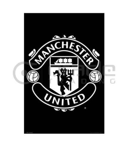 Manchester United Poster - Crest