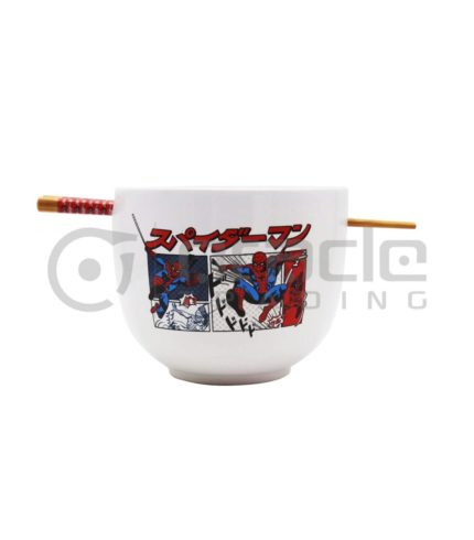 Spiderman Ramen Bowl & Chopsticks