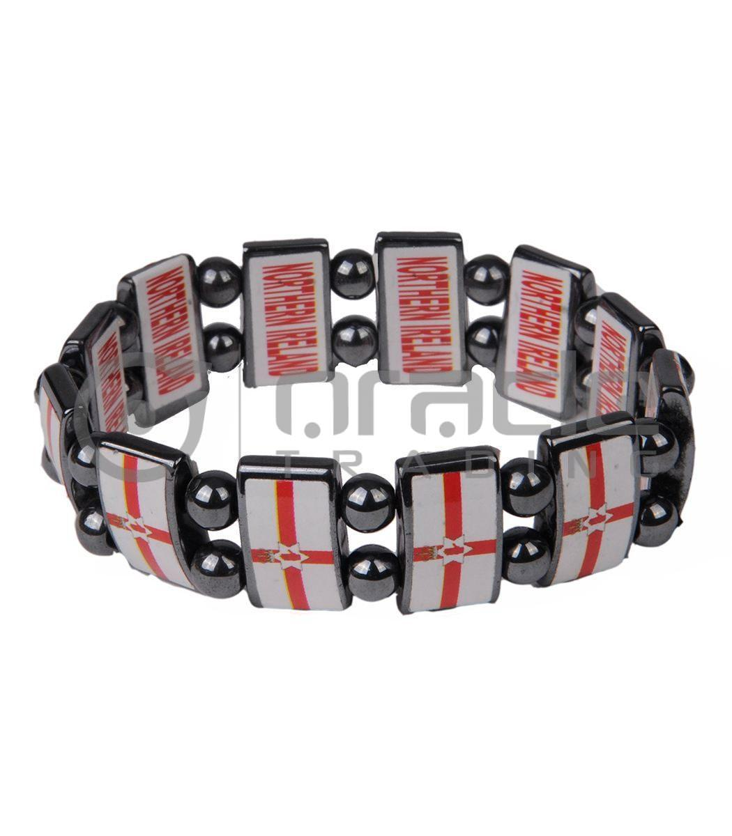 Northern Ireland Stone Bracelets 12-Pack