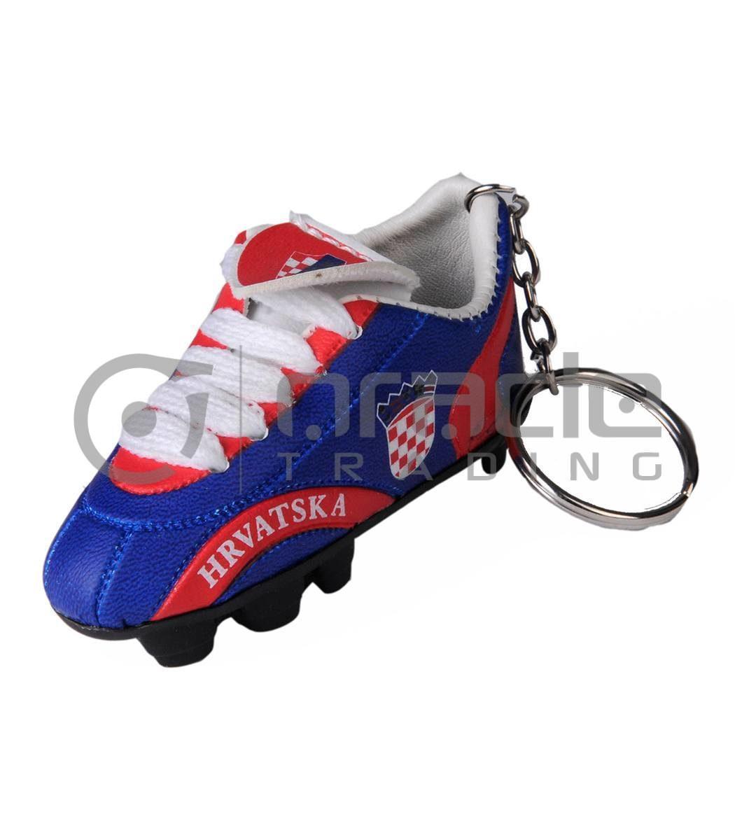 Croatia Shoe Keychain 12-Pack