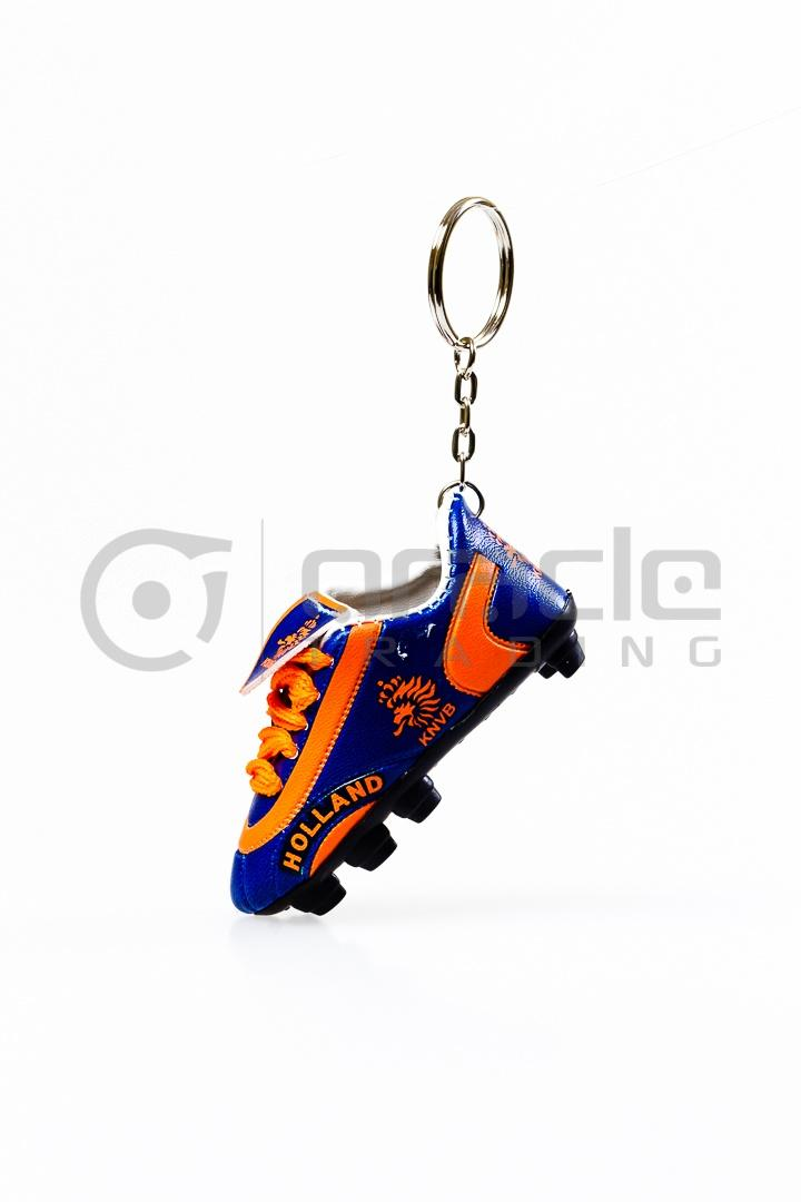 Holland Shoe Keychain 12-Pack - Blue