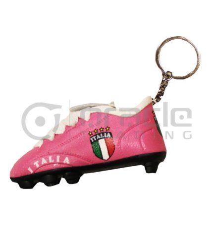 Italia Shoe Keychain 12-Pack (Pink)
