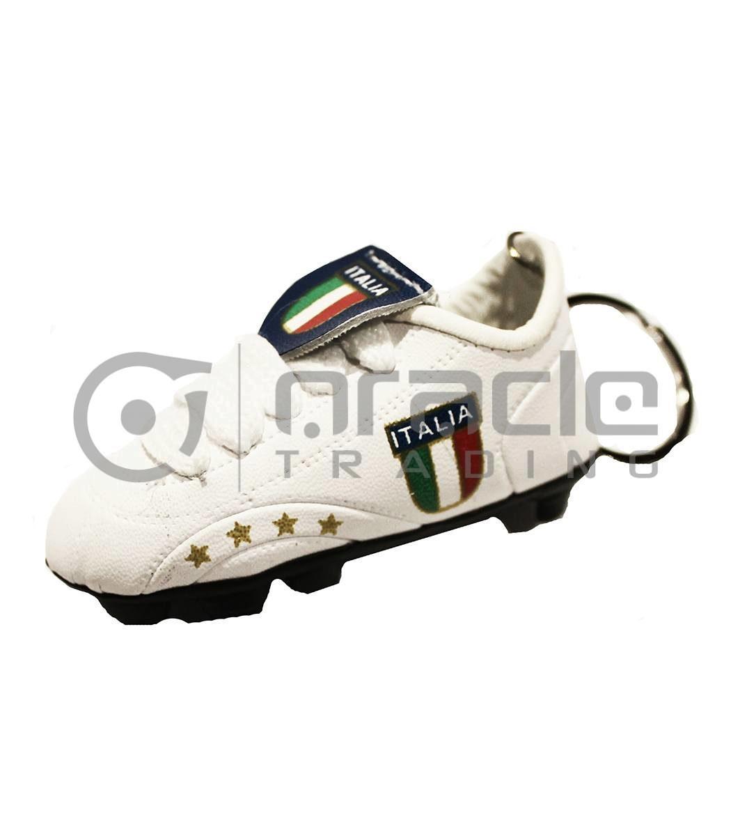 Italia Shoe Keychain 12-Pack (White)