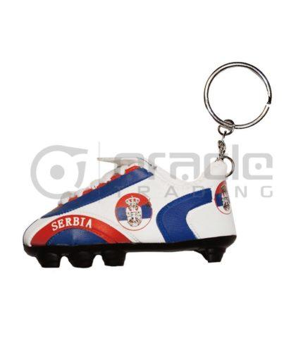 Serbia Shoe Keychain 12-Pack