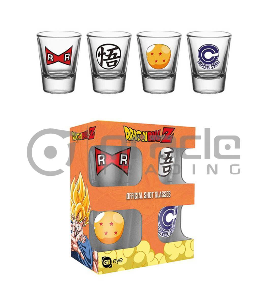 Dragon Ball Z Shot Glass Set (4-Pack)