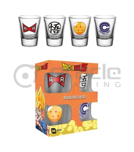 Dragon Ball Z Shot Glass Set (4-Pack)