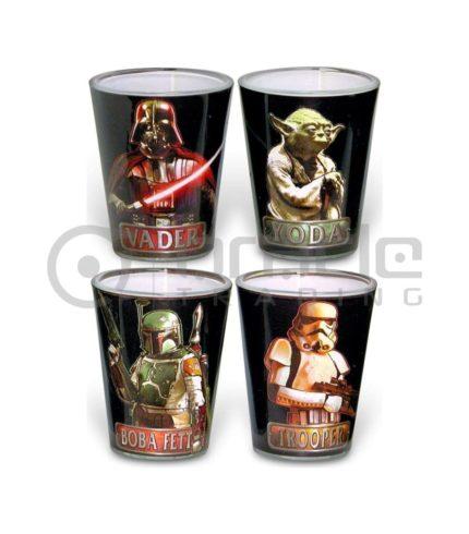 Star Wars Shot Glass Set - Characters (4-Pack)