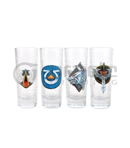 Warhammer Shot Glass Set - Tall (4-Pack)