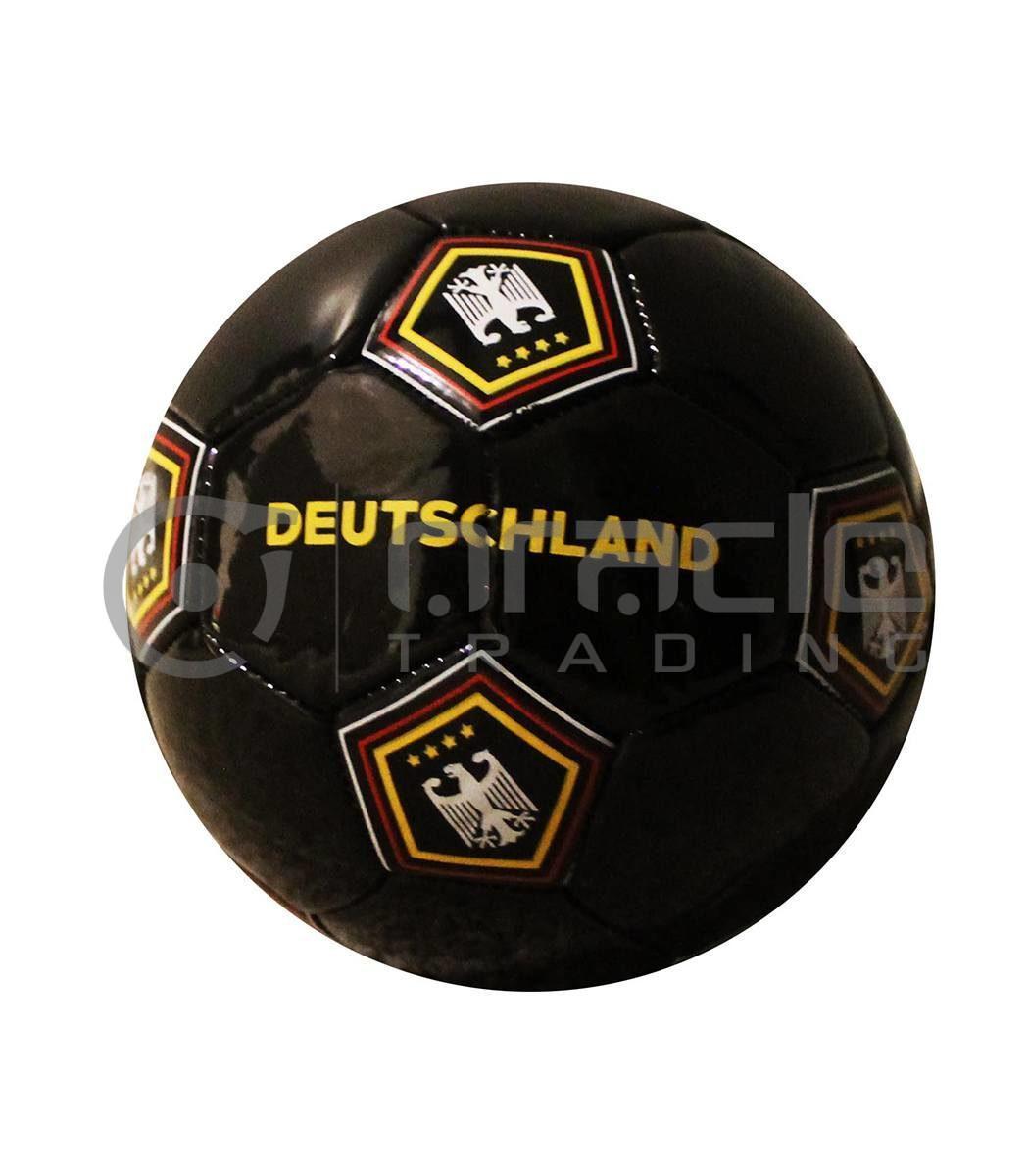 Germany Small Soccer Ball - Black
