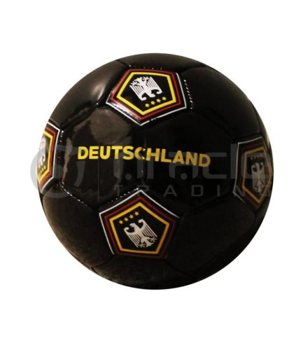 Germany Small Soccer Ball - Black