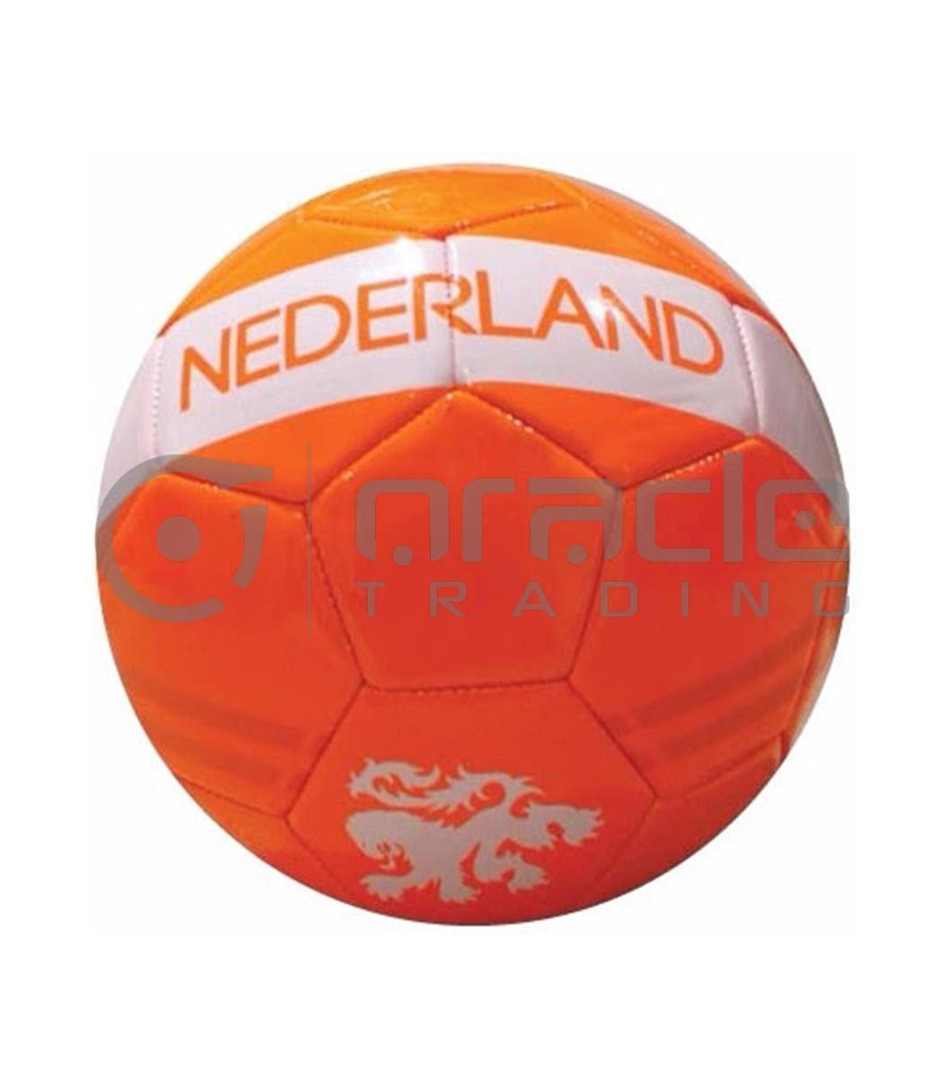 Holland Small Soccer Ball - Orange