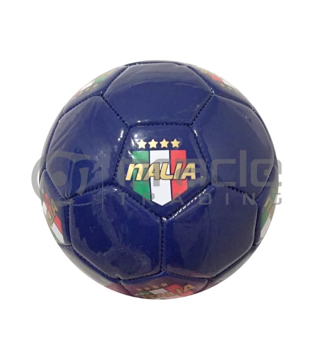 Italia Small Soccer Ball - Blue