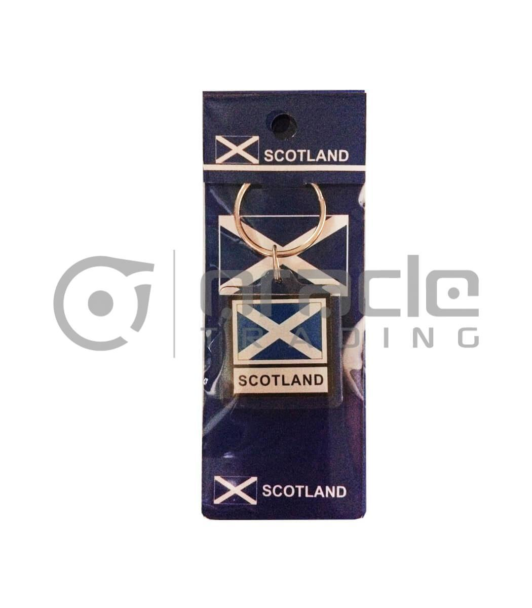 Scotland Square Keychain 12-Pack