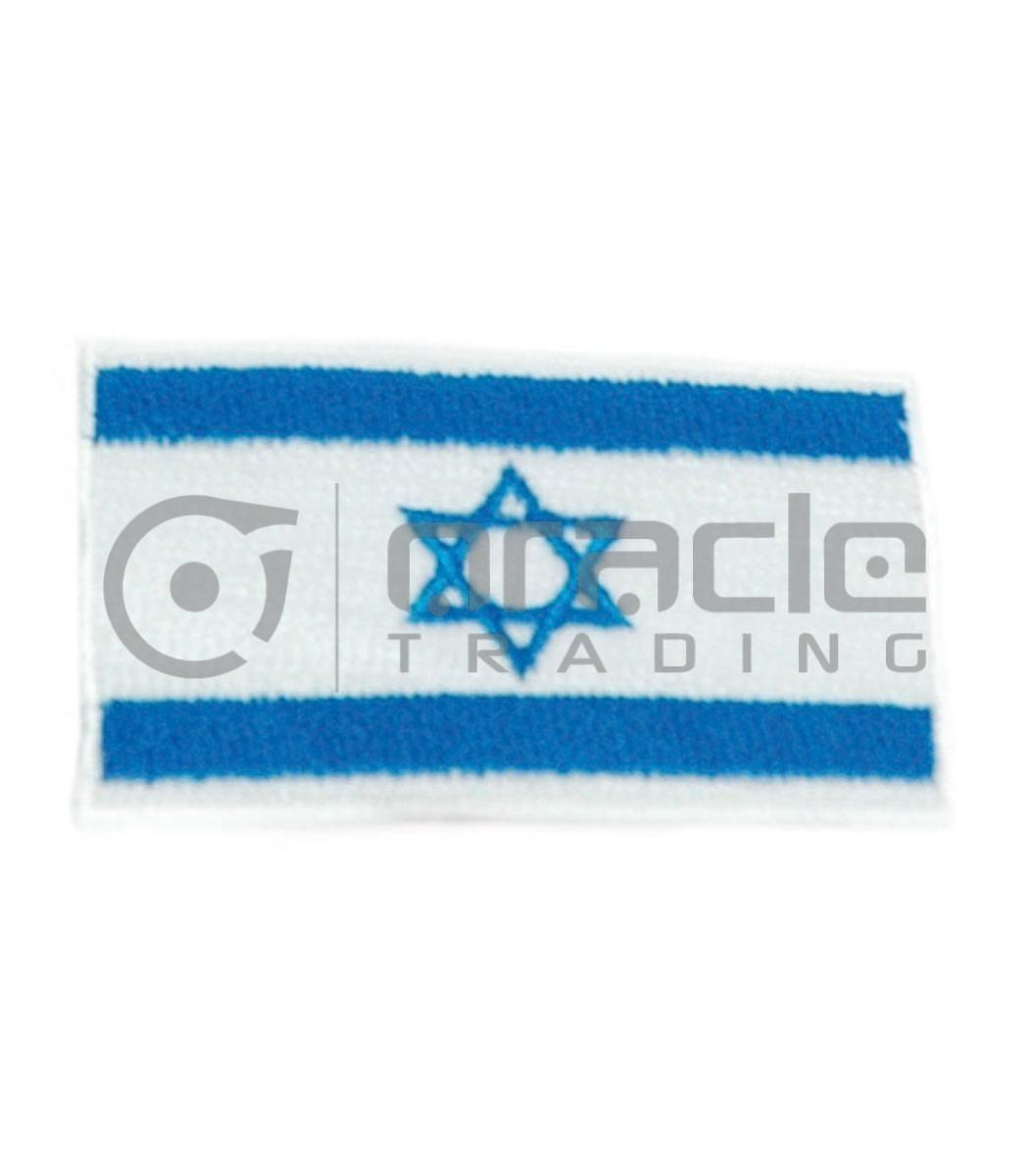 Israel Square Iron-on Patch