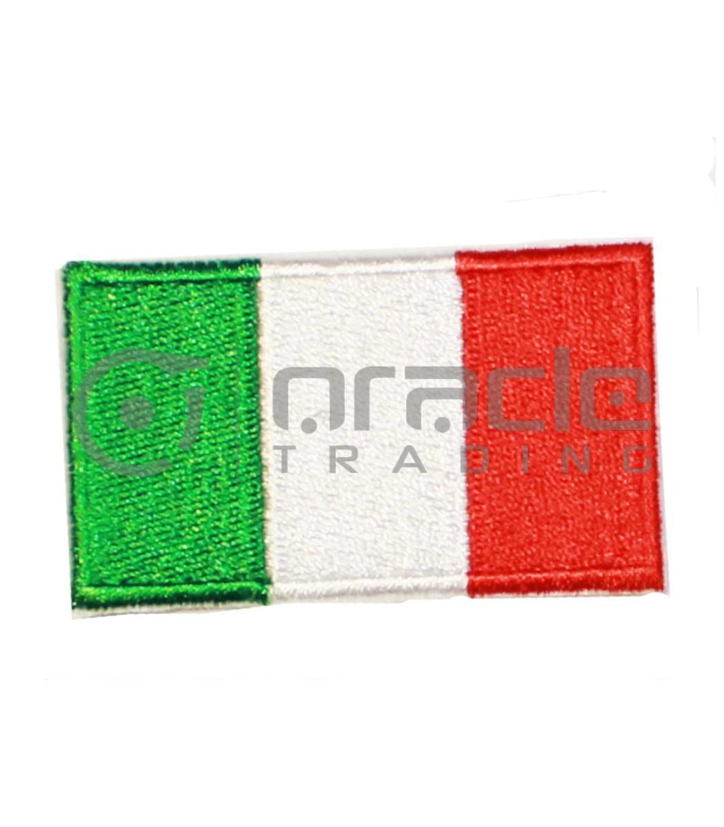 Italia Square Iron-on Patch